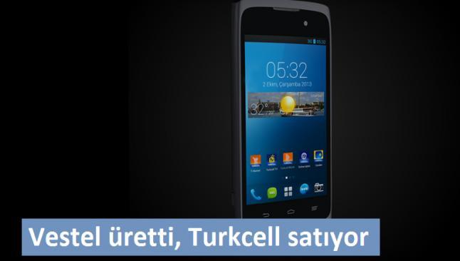 Türkiye'nin ilk akıllı telefonu