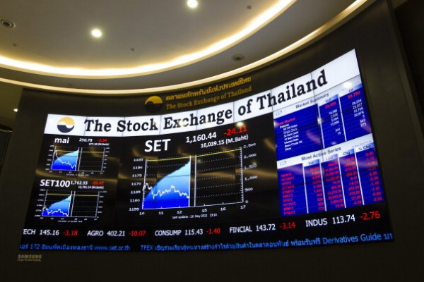 """Tayland borsasında """"Kral"""" paniği"""