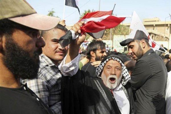 Bağdat'ta Türkiye karşıtı tehlikeli gösteri