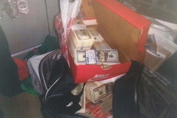 Ayakkabı kutusundan bir milyon dolar çıktı