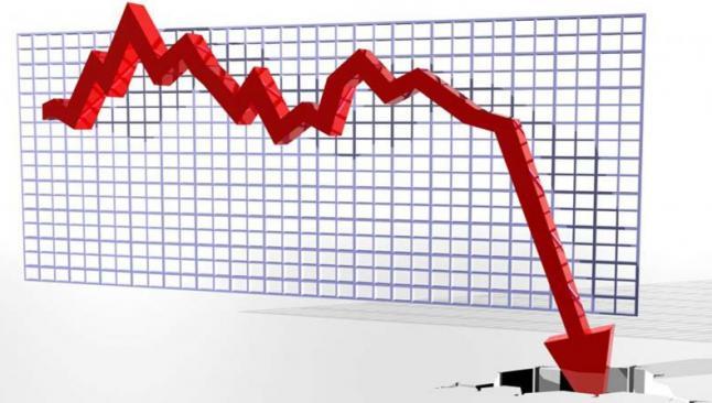 Borsada kayıp yüzde 3'ü aştı