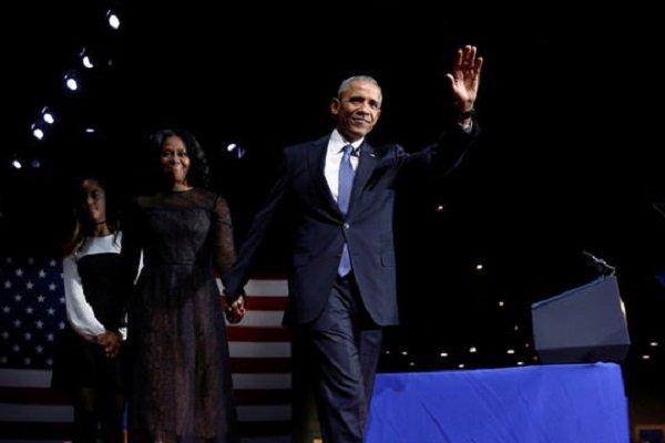 """Obama """"veda"""" konuşmasını yaptı"""