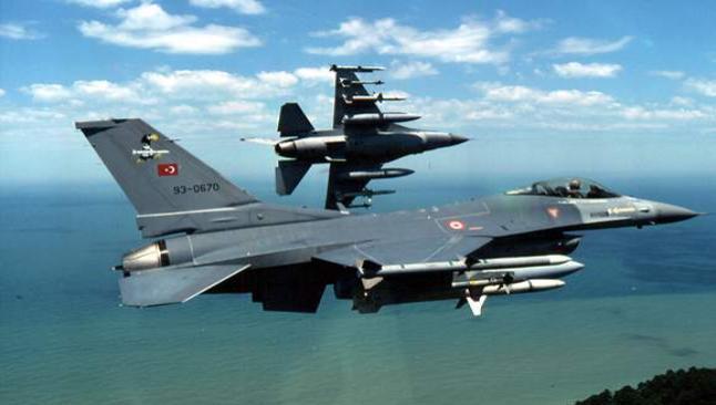 Türk F-16'ları Musul semalarında