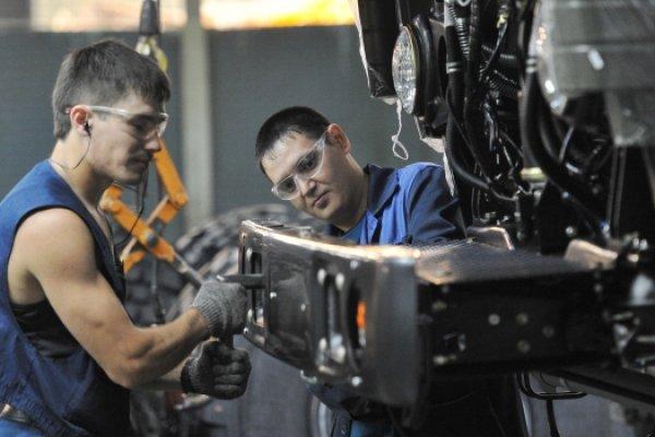 Rusya'da sanayi üretimi yükselişe geçti