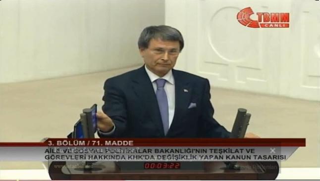 Erdoğan'ın ses kayıtları Meclis kürsüsünde