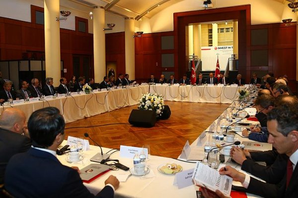 Erdoğan Amerikalı yatırımcılarla bir araya geldi