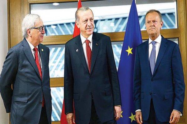 Erdoğan görüştü, Avrupa Birliği'yle yola devam