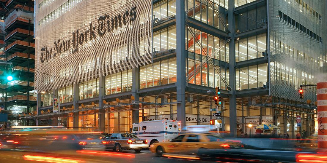 New York Times çalışanlarından iş bırakma eylemi