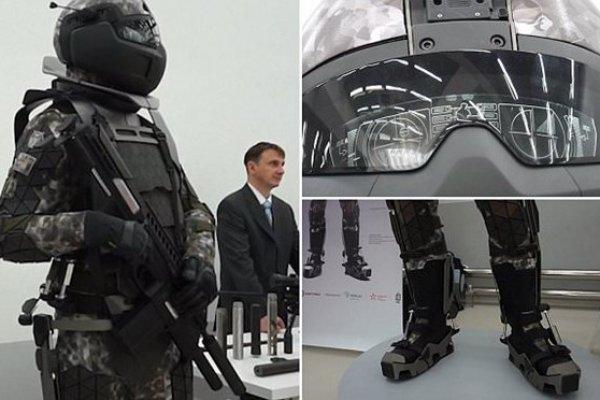 Rus askerleri Star Wars zırhını giymeye başladı!
