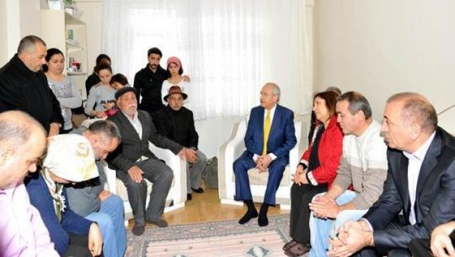 Kılıçdaroğlu, Berkin'in ailesini ziyaret etti