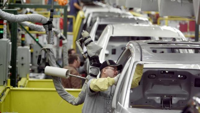 Otomotiv üretimi yüzde 8 azaldı