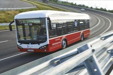 Yerli elektrikli otobüs SILEO Avrupa'da
