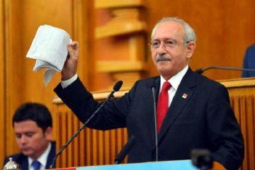 CHP 'bomba belge'yi bugün açıklayacak