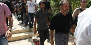 Rehine Türk şoförleri serbest