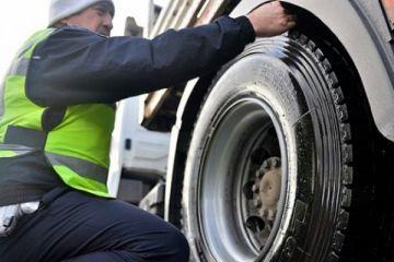 Kış lastiği takmayanlara 715 lira ceza