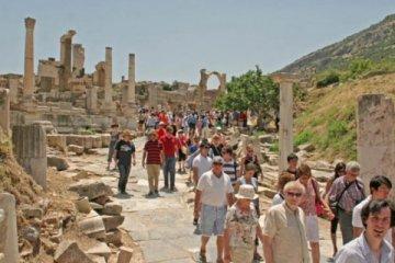 İzmir'e gelen yabancı turist sayısında artış var
