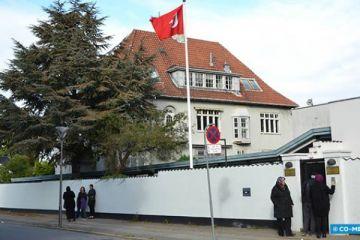 Türkiye'nin Kopenhag Büyükelçiliği'ne saldırı