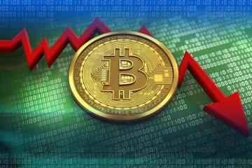 Bitcoin'in çöküşü: Öyle bir değer kaybetti ki...
