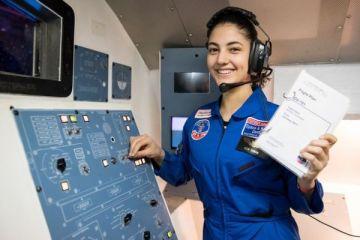 Amerika'daki uzay kampına katılan tek Türk liseli Selin'in hedefi NASA!