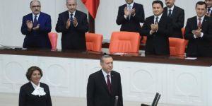 Erdoğan cumhurbaşkanlığı mazbatasını aldı