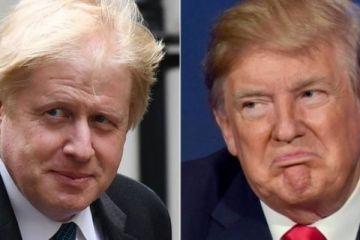 İngiltere Dışişleri Bakanı Johnson'dan Trump'a çağrı