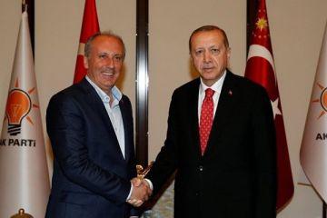 İnce ve Erdoğan görüşmesi sonrası ilk açıklama