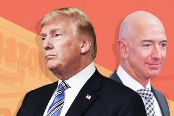 Trump Amazon'a kafayı taktı