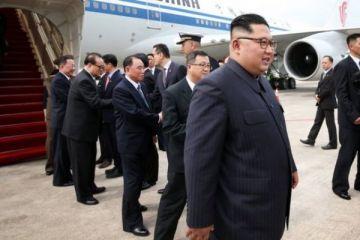 Kuzey Kore lideri Kim, Trump'la görüşmek için Singapur'da