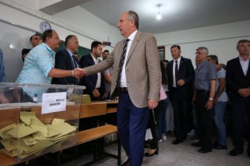 CHP'nin Cumhurbaşkanı adayı İnce oyunu kullandı