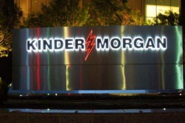 Kinder Morgan 180 milyon dolar zarar etti