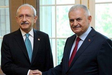 Binali Yıldırım, Kılıçdaroğlu ile görüştü