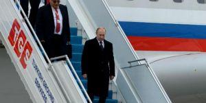 Putin Türkiye'ye geldi