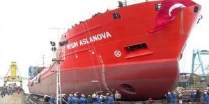Bilal'in yeni gemisi denize indi