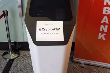 İlk kez bir banka kriptopara ATM'si uygulaması başlattı