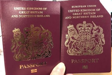 İngiltere pasaportlardan AB ifadesini çıkarttı