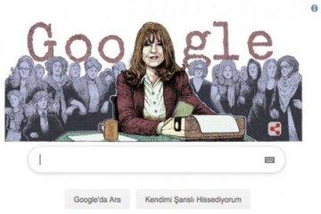 Google'dan Duygu Asena için doodle