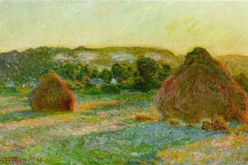 "Monet'in ""Les Meules"" tablosuna rekor fiyat"