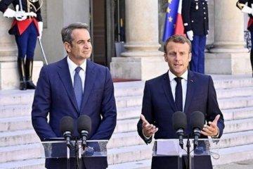 Macron ile Miçotakis'ten ortak Türkiye açıklaması