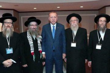 Erdoğan New York'ta Yahudi temsilcileri ile görüştü