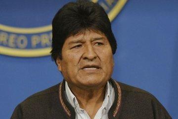 Morales Meksika'ya sığında