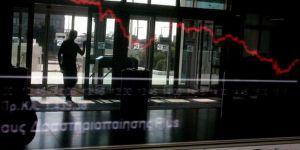 Yunanistan borsası çöktü
