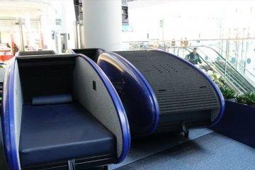 İstanbul Havalimanı'nda saati 9 euroya uyku kabini