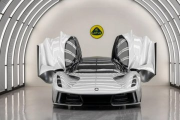 Lotus'un ilk elektrikli otomobili 2.2 milyon dolar