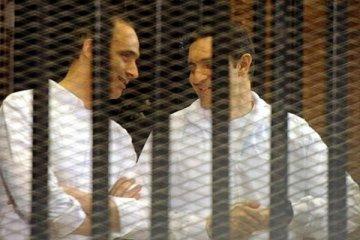 Mübarek'in oğullarının borsada manipülasyon davası sonuçlandı