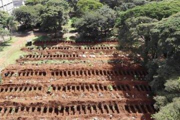 Brezilya'da korona kayıpları bir günde bin kişi arttı