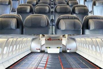 Yolcu uçakları kargo uçaklarına dönüştürülüyor