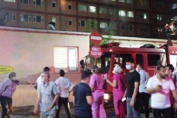 İstanbul Eğitim Araştırma Hastanesi'nde yangın