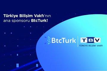 BtcTurk, Türkiye Bilişim Vakfı'nın sponsoru oldu