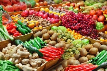 Ağustosta Tarım ÜFEyüzde 1,77 arttı