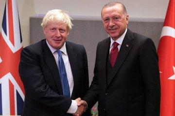 Erdoğan Johnson ile telefonda görüştü